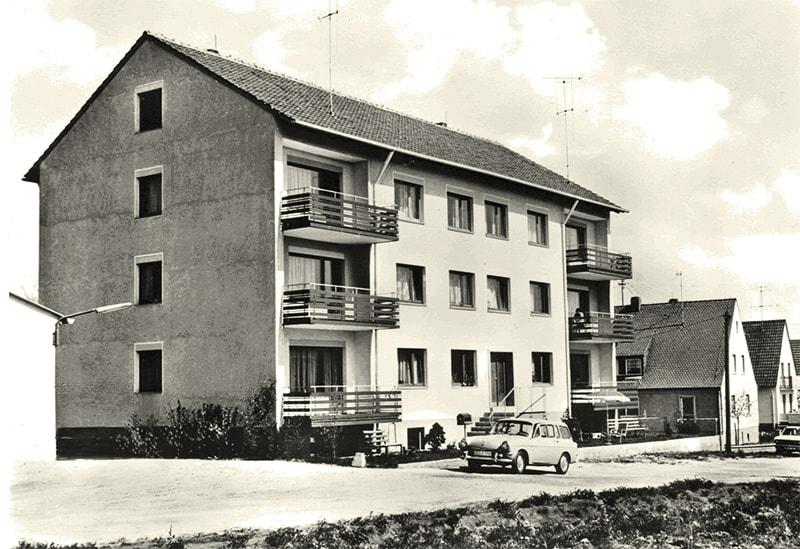 Gebäude Haus der Pflege – Kitzingerland 1960